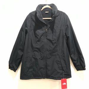 The North Face Fleece Lined Waterproof Jacket